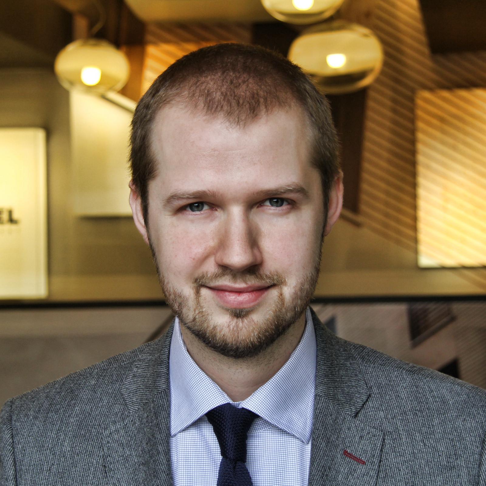 Konrad Bugiera - rzecznik prasowy Nickel Develoment